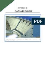 CAPITULO III (ESTATICA DE FLUIDOS) (Reparado)