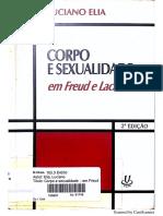Corpo e Sexualidade Em Freud e Lacan - Luciano Elia (1)