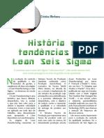 Historia e Tendencias Do Lean Seis Sigma