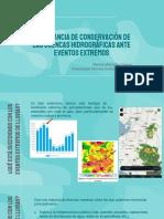 2.1 Eventos Extremos en Cuencas
