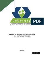 Manual_De_Instrucoes_CABERGS_Para_Uso_Do_Padrao_TISS