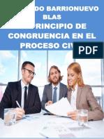 Libro El Principio de Congruencia en El Proceso Civil Dr. Fernando Barrionuevo Blas