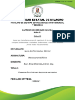 Panorama Economico Del Ecuador en Tiempos de Coronavirus (1)