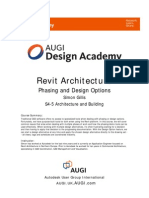 S4-5 Revit Architecture - Phasing and Design Options
