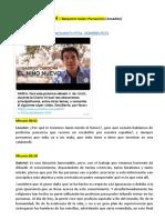 Niño Nuevo 'LA VISIÓN DEL FIN' - Benjamín Solari Parravicini - Amadito