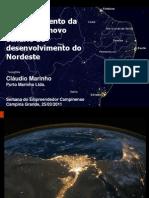 Posicionamento da Paraíba no novo cenário de desenvolvimento do Nordeste