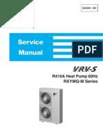 Daikin Vrvs Rxymq r410a Service Manual