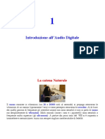 Introduzione Audio digitale 1
