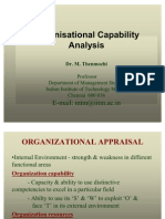 5-Organisational Appraisal