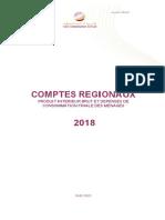 Les Comptes régionaux. Produit intérieur brut et dépenses de consommation finale des ménages 2018 (version française)