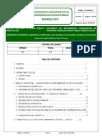 Instructivo Certificados DADEP