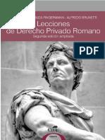 Lecciones de Derecho Privado Romano 21-4 SEDICI