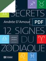 D'Amour_Andree_Les_secrets_des_12_signes_du_zodiaque_Nouvelle_édition
