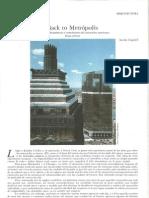 Back to Metrópolis. Esplendor, decandencia y renacimiento del rascacielos americano - ANTÓN CAPITEL