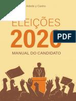Eleições 2020 - Manula Do Candidato - Adede y Castro