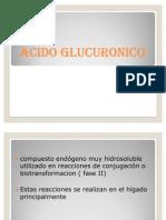 Acido glucuronico