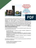 2 PARTE-TIPOLOGÍAS DE LAVADO DE ACTIVOS Y FINANCIACIÓN DEL TERRORISMO SECTOR TRANSPORTE AUTOMOTOR DE CARGA TERRESTRE