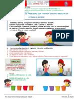 IV - MATEMA - REFORZANDO DIVISIONES EXACTAS  E INEXACTAS
