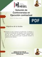 solución de controversias en contratos