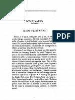 PLATON LOS RIVALES O DE LA FILOSOFIA