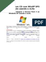 CD WinXP SP3 usando o nLite