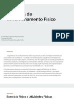 Ginástica de Condicionamento Físico Aula 3 Profª Rosana Educação Física Rosana Ferreira