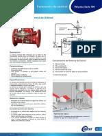 1.6 S100-AL Válvula de Control de Altitud