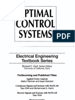 Optimal Control And Estimation Stengel Pdf