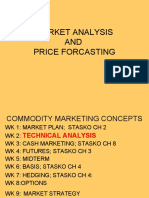 MARKET ANALYSIS _ PRICE FORECASTING