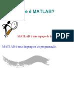 O que é MATLAB