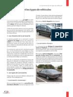 La carrosserie et les types de véhicule