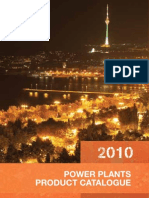 Power Plants Product Catalogue 2010