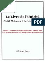 KITAB-AT_TAWHID-LE-LIVRE-DE-L'UNICITE-DE-MOHAMMAD-IBN-ABDOUL-WAHAB