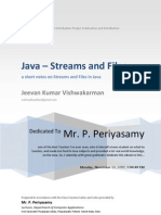 Streams And Files