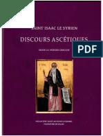 Saint Isaac Le Syrien - Discours Ascétiques