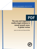 The uses and impacts of medico legal evidence in sexual assault case a global review
