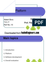 Android Platform PPT