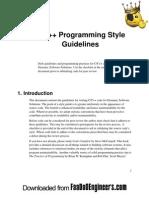 C-C++programming-style-guidlines