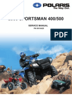 2005 polaris sportsman 400-500 service manual (nopw) | gallon | vehicle  parts