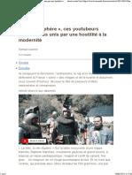 [Le Monde] La Virilosphère Ces Youtubeurs Nationalistes Unis Par Une Hostilité à La Modernité
