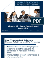 team development and stges