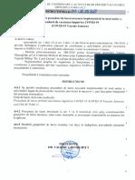 Instrucțiunea Nr.133 Privind PAM 11 Procedură Vaccinare Janssen
