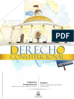 Derecho Constitucional _U1