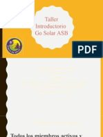 Taller introductorio Energia Solar