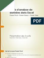 Outils d'analyse de données dans Excel