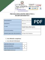 Programmazione Dip INF 2 Biennio e 5 Anno