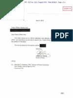 Promotion letter for Stephen Kue