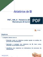 PMT_14M_A - Relatórios BI Manutenção