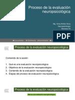 Clase 13. Proceso de La Evaluación Neuropsicológica