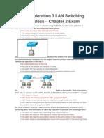 CCNA3 - Exam 2 de pe net